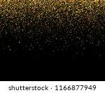 falling particles on dark... | Shutterstock . vector #1166877949