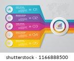 5 steps presentation chart ...   Shutterstock .eps vector #1166888500