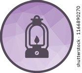 lit lamp icon | Shutterstock .eps vector #1166890270