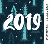 colorful background with 2019 ...   Shutterstock .eps vector #1166891236