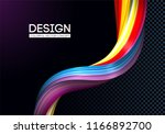 creative modern colorful flow.... | Shutterstock .eps vector #1166892700