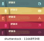 vector background number... | Shutterstock .eps vector #116689348