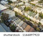 aerial view typical victorian... | Shutterstock . vector #1166897923