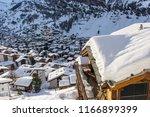 Zermatt, Switzerland - lodge over the town