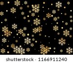 crystal snowflake and circle... | Shutterstock .eps vector #1166911240