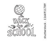 concept of education. school... | Shutterstock .eps vector #1166911789