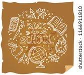 concept of education. school... | Shutterstock .eps vector #1166911810