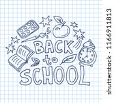 concept of education. school... | Shutterstock .eps vector #1166911813