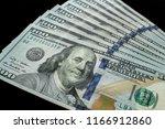 us  100 currency | Shutterstock . vector #1166912860