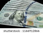 us  100 currency | Shutterstock . vector #1166912866