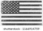 american flag background.grunge ... | Shutterstock .eps vector #1166914759