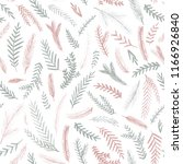 seamless pattern with fir... | Shutterstock .eps vector #1166926840