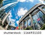 brussels  belgium   may 20 ... | Shutterstock . vector #1166931103