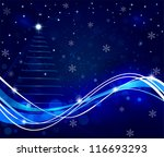 christmas background | Shutterstock .eps vector #116693293
