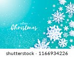 merry christmas and happy new... | Shutterstock .eps vector #1166934226