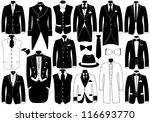 suits illustration set   Shutterstock .eps vector #116693770