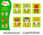 matching children educational... | Shutterstock .eps vector #1166953540
