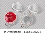 Fruit Jam Jar Glass Isolated On ...