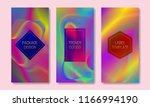 vector vibrant colored... | Shutterstock .eps vector #1166994190