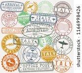 palermo italy stamp vector art... | Shutterstock .eps vector #1166998426