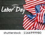 happy labor day banner ... | Shutterstock . vector #1166999980
