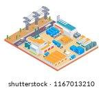 modern isometric big industrial ...   Shutterstock .eps vector #1167013210