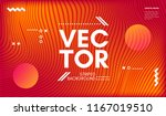 wave lines. abstract geometric... | Shutterstock .eps vector #1167019510