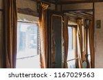 Corridor Of A Vintage Train In...