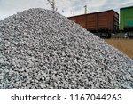 railway. transportation of... | Shutterstock . vector #1167044263
