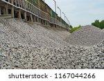 railway. transportation of... | Shutterstock . vector #1167044266