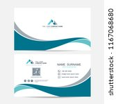 business card vector background | Shutterstock .eps vector #1167068680
