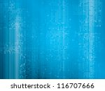 hi tech abstract background | Shutterstock . vector #116707666