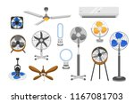 Collection Of Electric Fans Of...