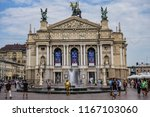 lviv  ukraine   august 2  2018  ... | Shutterstock . vector #1167103060