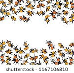 vector card with hand drawn...   Shutterstock .eps vector #1167106810