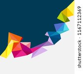 colorful texture vector... | Shutterstock .eps vector #1167112369