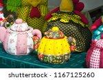 flea market   folk crafts.... | Shutterstock . vector #1167125260