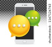 banner icon mobile phone... | Shutterstock .eps vector #1167126763