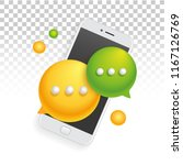 banner icon mobile phone... | Shutterstock .eps vector #1167126769
