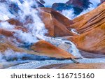 Landscape View Of Geothermal...