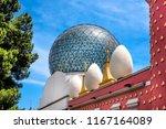 spain  catalonia  figueres ... | Shutterstock . vector #1167164089