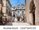 spain  catalonia  figueres ... | Shutterstock . vector #1167164110