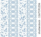seamless pattern with ornament  ... | Shutterstock .eps vector #1167191236