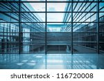 glass curtain wall and window... | Shutterstock . vector #116720008