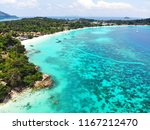 aerial view of beautiful beach... | Shutterstock . vector #1167212470