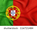 fabric texture of the flag of... | Shutterstock . vector #116721484