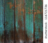 old  grunge wood panels used as ... | Shutterstock . vector #116721736