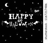 flying ghost spirit holding...   Shutterstock .eps vector #1167217486