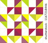 colorful triangles seamless... | Shutterstock .eps vector #1167218446