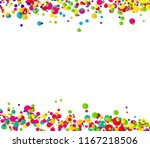abstract confetti background... | Shutterstock .eps vector #1167218506